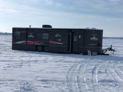 2019 Black Knight Ice Castle 28′ V-Front